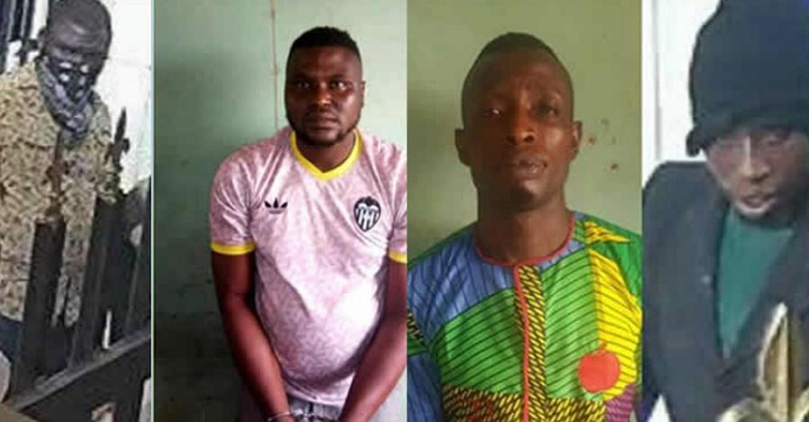 Offa bank robbery: Police apprehend two wanted suspects (Photos)