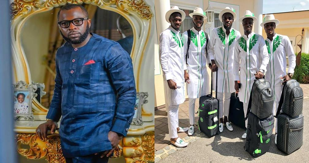 I deserve some accolades! – Designer of super eagles arrival kit laments over lack of recognition