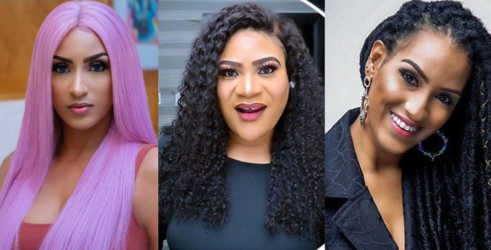 Nollywood actress, Nkechi Sunday apologizes to Juliet Ibrahim for calling her an idiot