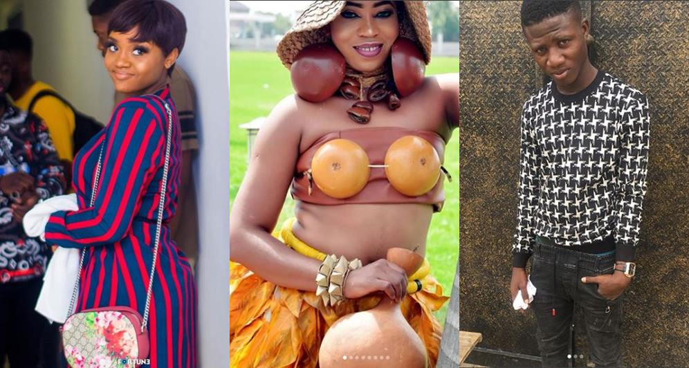 Davido's girlfriend Chioma savagely replies two trolls for calling her short and ugly