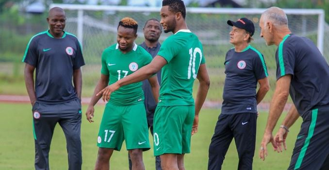 Onazi Ogenyi  comments on his alleged rift with Mikel Obi over leadership tussle in Super Eagles' camp