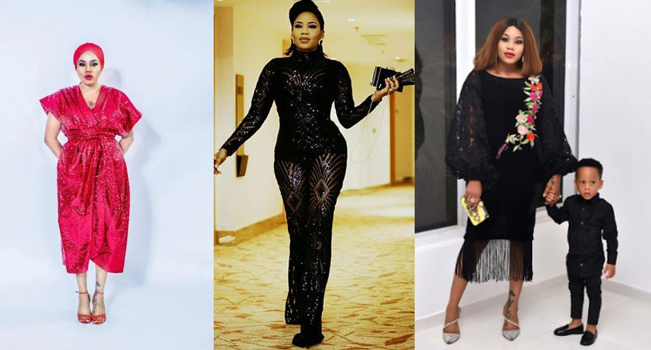 Toyin Lawani reacts after being slammed for saying all men cheat and are entitled to 10 women in her Father's day post