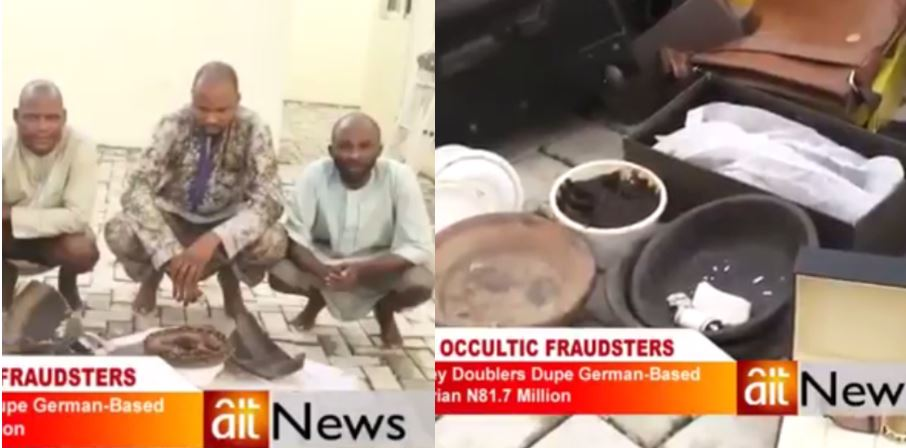 How Oyo Occultic Fraudsters Duped German Based Woman Of N81 Million (Photos+Video)