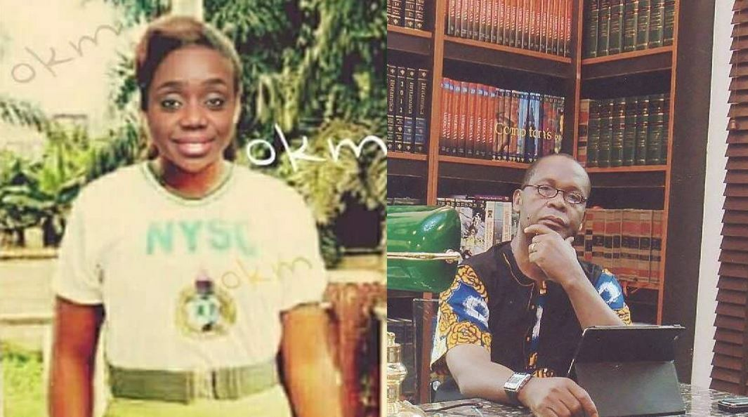 APC Chieftain, Joe Igbokwe, shares photo of Finance Minister, Kemi Adeosun, wearing NYSC uniform, and there is something wrong about it…, Nigerians react