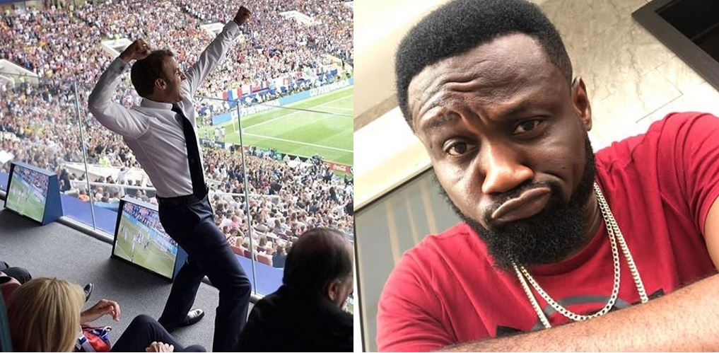 Jude Okoye Reacts To World Cup Final Match, Throws Shade At Buhari and Other African Presidents