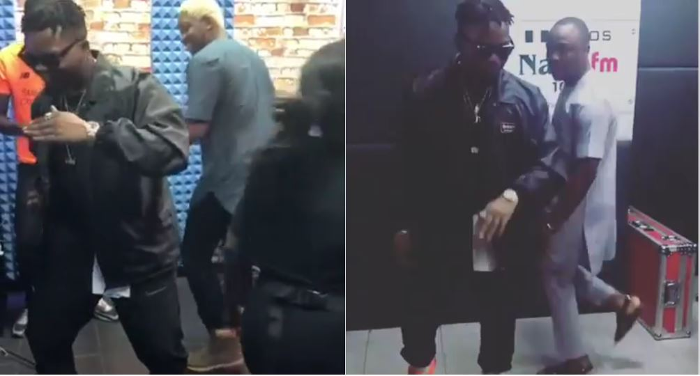 "Olamide introduces new dance step ""Kpakujemu"" for his song 'Motigbana' (Video)"