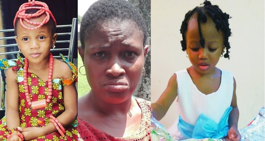 Proprietress of the orphanage home where four year old Elo Ogidi was taken to in Benin city after being abducted in Lagos has been arrested