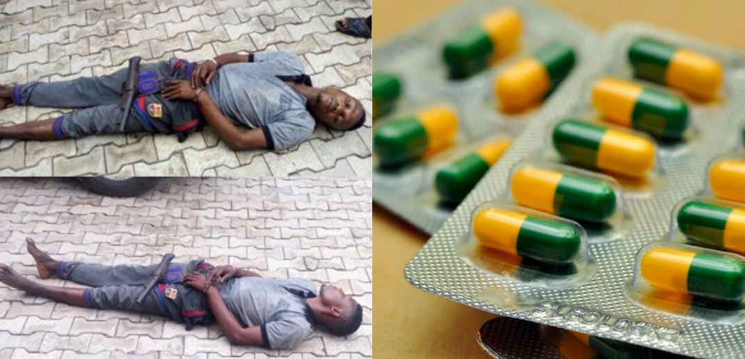Kidnapper who slept off in victim's compound during operation under tramadol influence, still sleeping 6 days after arrest, police reveals
