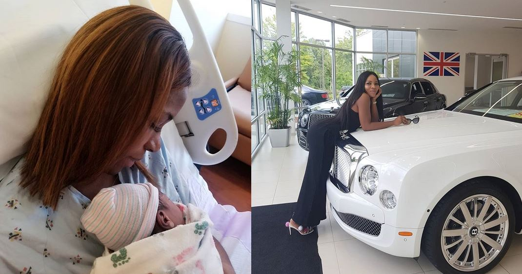 Image result for See the Bentley Linda Ikeji bought for her son, Jayce Jeremi (Photos+Video)