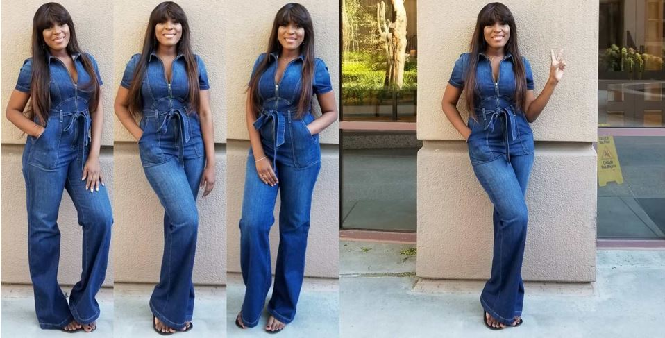 Popular blogger, Linda Ikeji, slays in new post delivery photos