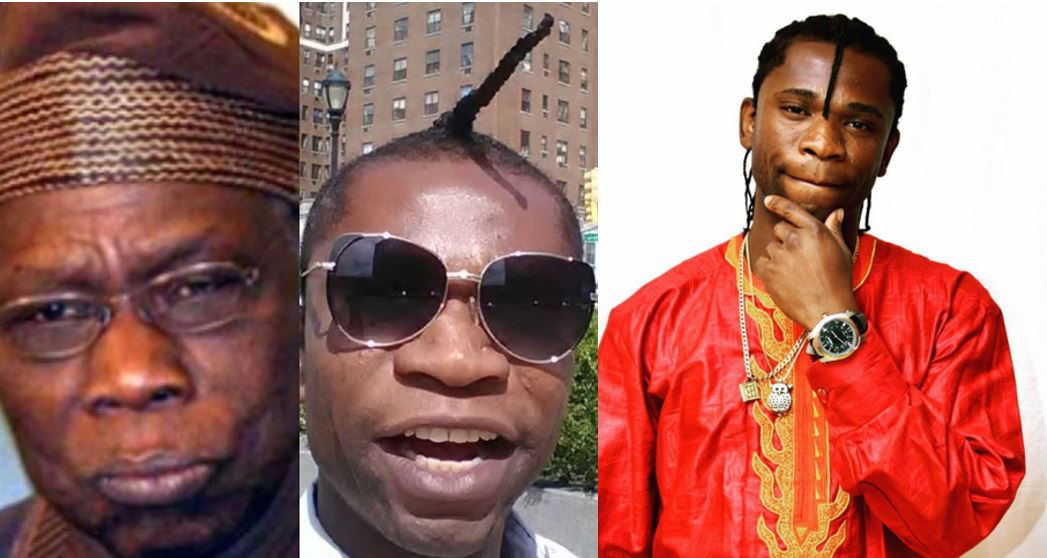 Speed Darlington compares himself with former president, Olusegun Obasanjo