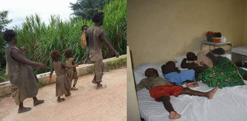Government rehabilitate family of 5 battling mental illness in Cross River State after their story went viral online (Photos)