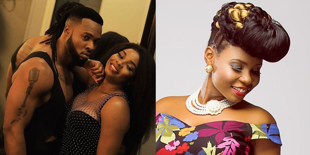 Yemi Alade calls Flavour bestie over new video, Twitter users say it's not stew but 'akamu'