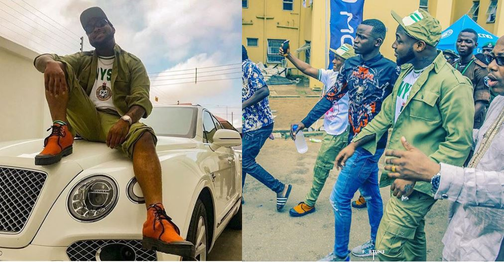 Seven NYSC rules Davido has broken and their accompanying sanctions