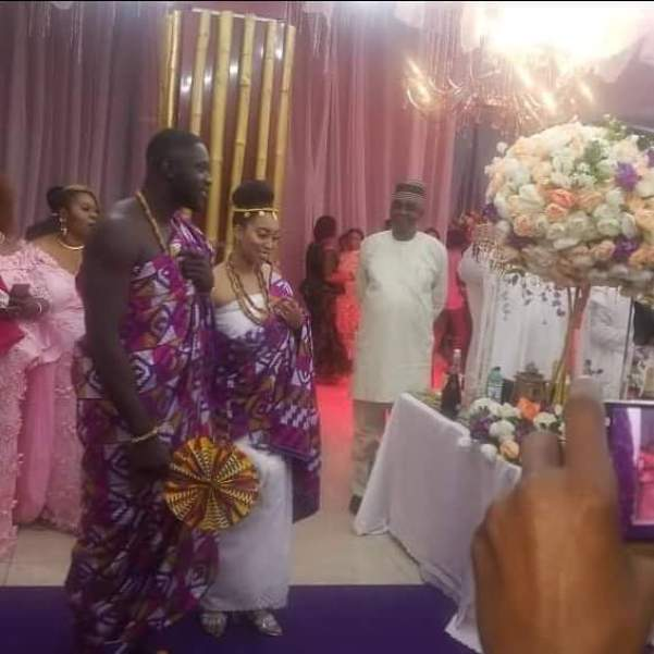 First Photos From The White Wedding Of Pastor Chris