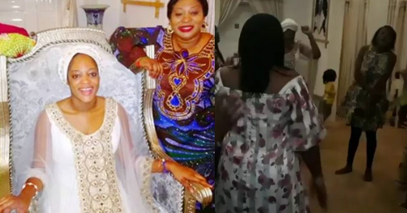 Ooni of Ife's wife resumes marital duties, holds praise and worship session in palace (Photos/video)