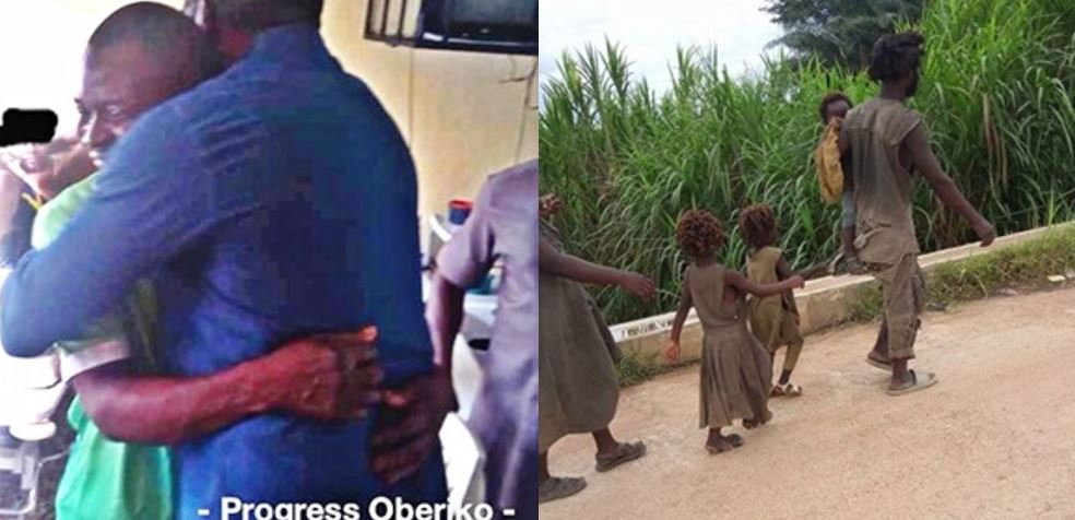 #ONE_BIG_FAMILY – New Photos Of The Family Of Five With Madness In Cross River As They Recover In Rehabilitation Center