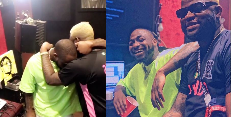 Singer Olamide reacts to video of Davido and Skales crying (Video)