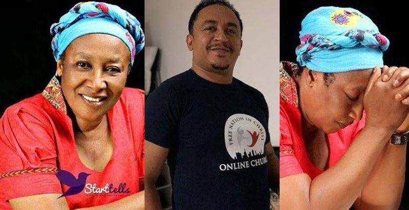 Daddy Freeze calls out Actress Patience Ozokwor over her dress code call for Christians