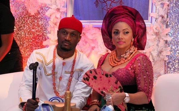 Peter Okoye subtly shades his brothers in a lengthy note as he celebrates his wife, Lola, on their 5th wedding anniversary