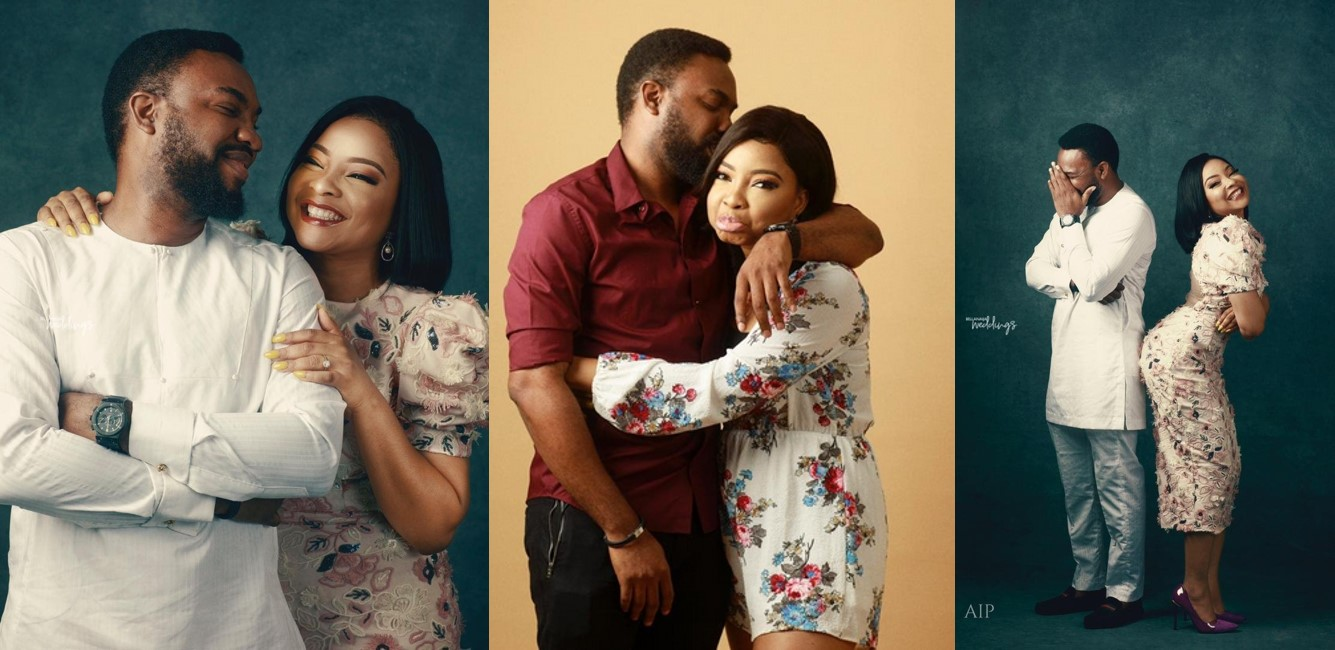 Tinsel Wedding: Stunning Pre-Wedding Photo-Shoot Of Actors Linda Ejiofor And Ibrahim Suleiman