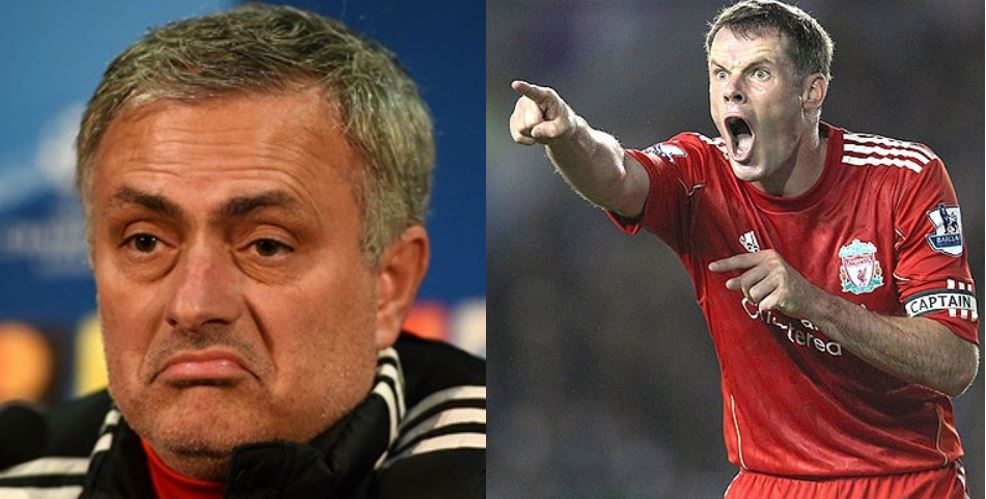 Ex-Liverpool star, Jamie Carragher reveals who caused Mourinho's sack from Man United