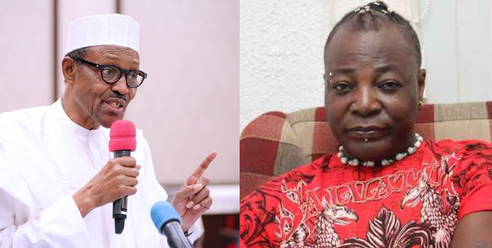 'May your light shine like NEPA, may your road to 2019 be like Nigerian roads' – Charly Boy sends birthday message to President Buhari