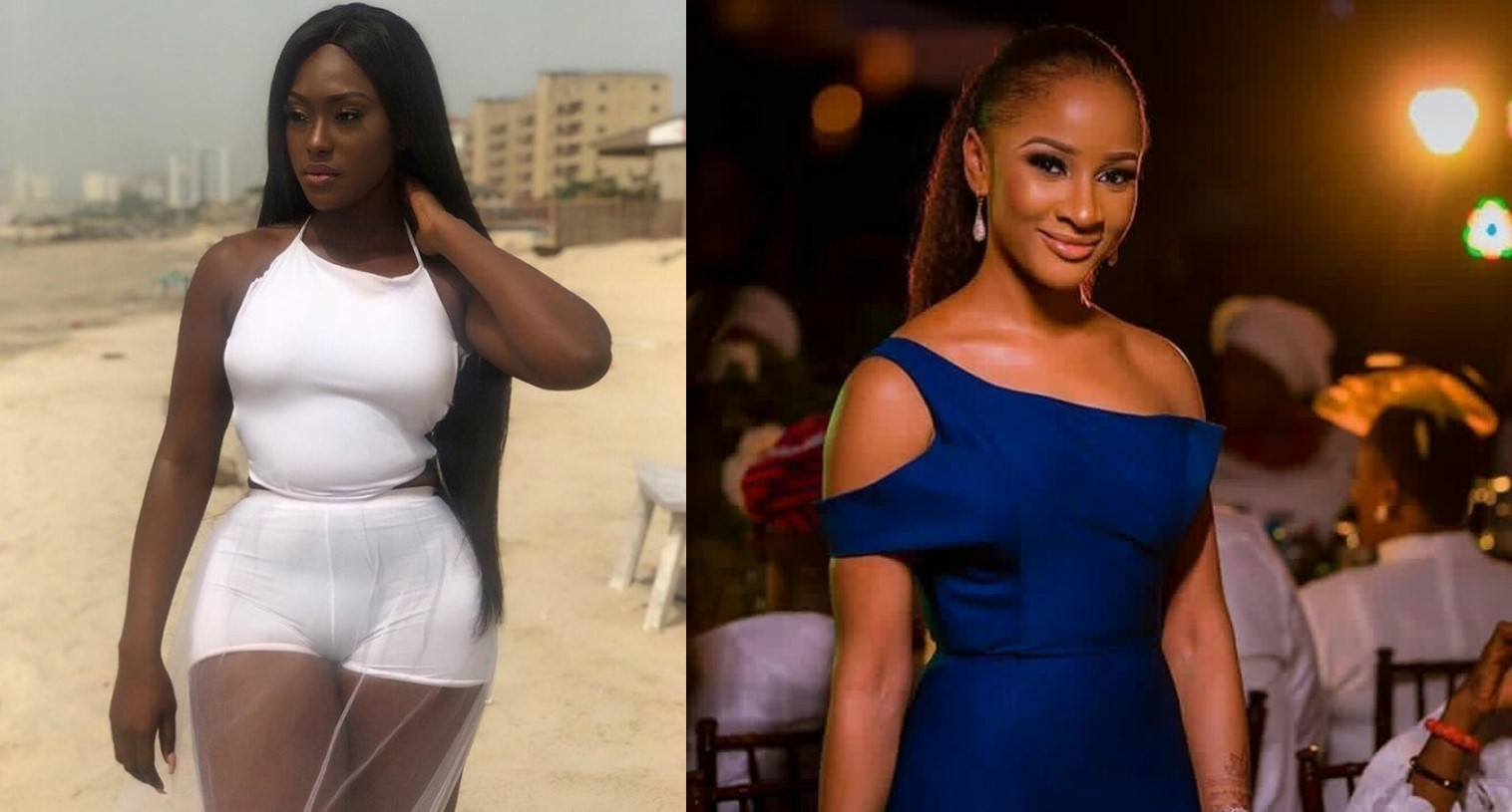 Troll condemns Linda Osifo's dressing, asks her to look up to Adesua Etomi, she replies
