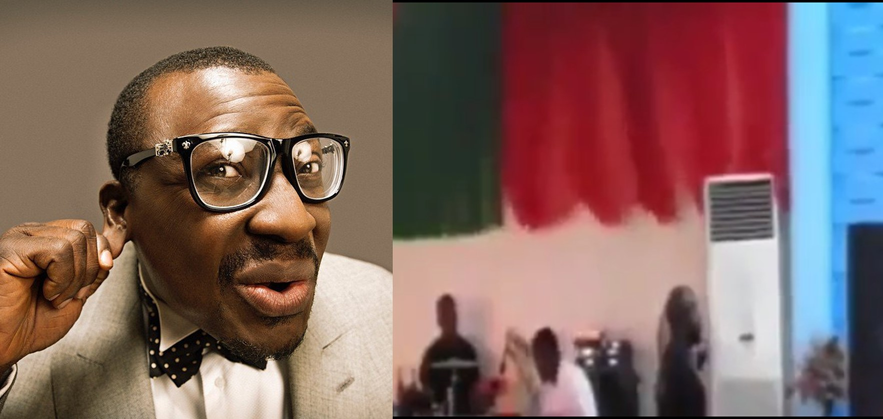 You are a thief -Ali Baba blasts pastor (Video)