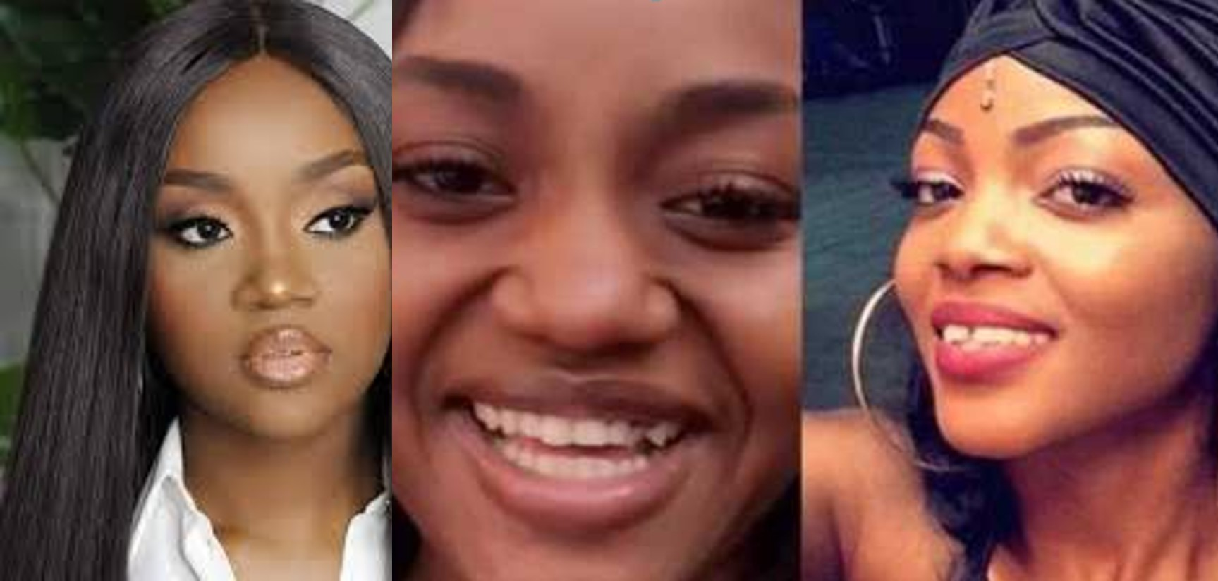 Davido's girlfriend, Chioma blasts a fan who shamed her for having bad teeth