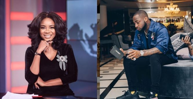Report claims that Davido is allegedly dating & 'servicing' Ghanaian TV Presenter, Serwaa Amihere secretly