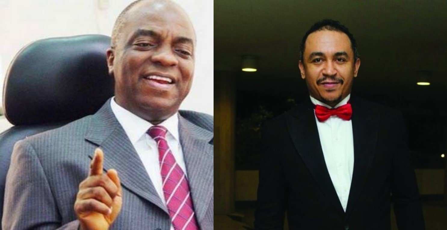 Daddy Freeze reacts to Bishop David Oyedepo's claim of being dangerously wealthy