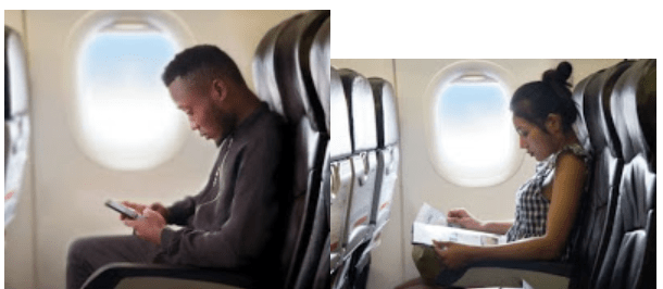 Busted: Nigerian singer in soup after posting photoshopped photo of himself in a plane on social media