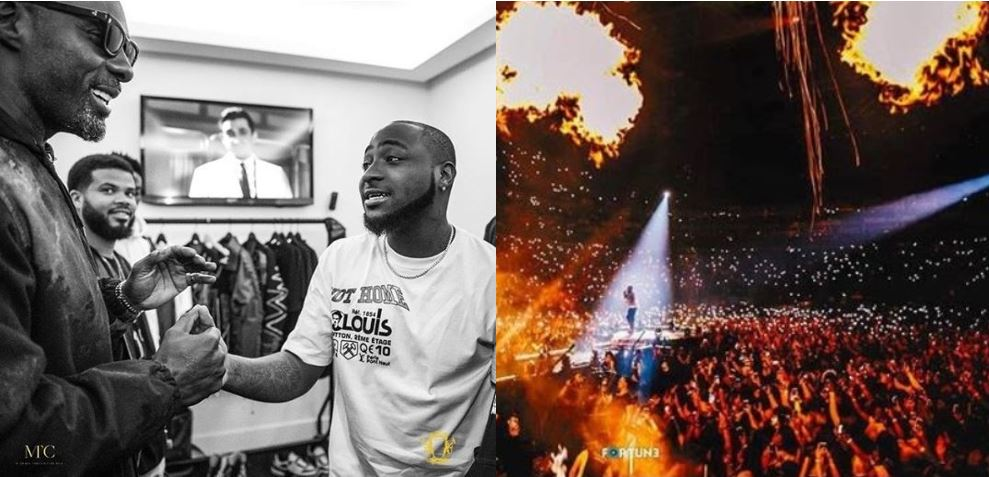 """I talk am, I do am!"" – Davido brags after selling out O2 Arena in London (Video)"