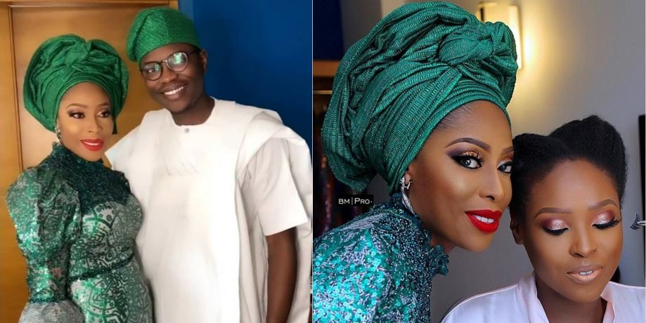 Lovely photos from the wedding introduction of Mo Abudu's daughter, Temidayo
