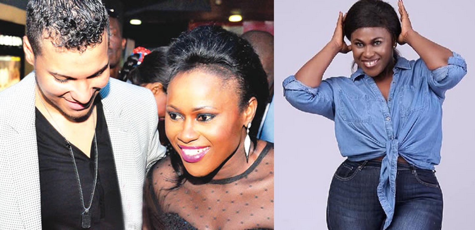 Uche Jombo savagely replies a follower who asked her the whereabouts of her husband