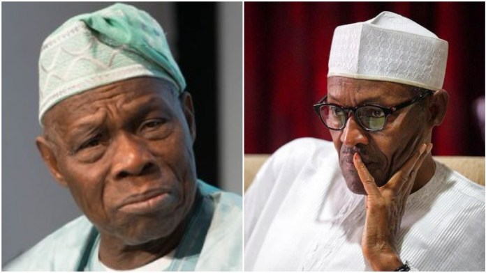 You're a coward and I'll teach you a lesson – President Buhari replies Obasanjo