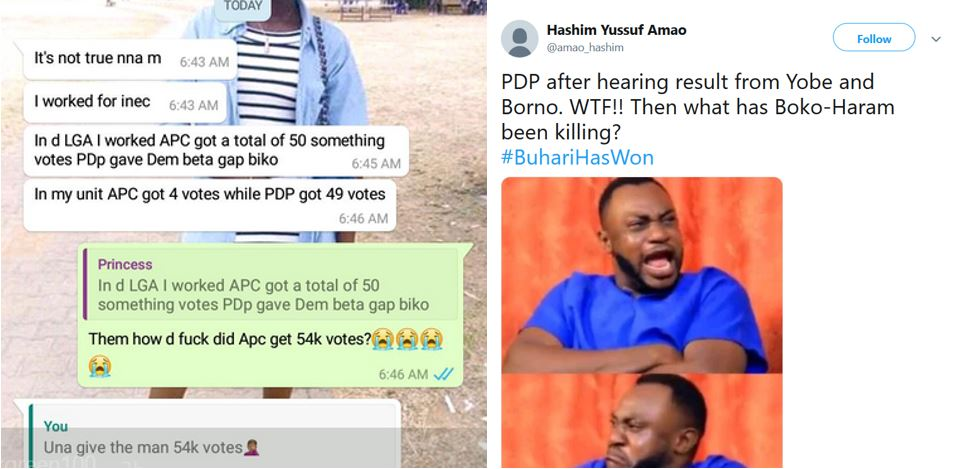 Nigerians React To The Results Of Presidential Election Released So Far By INEC