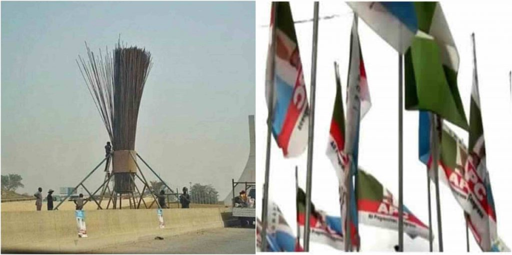We Don't Know Who Constructed The Giant Broom – APC claims
