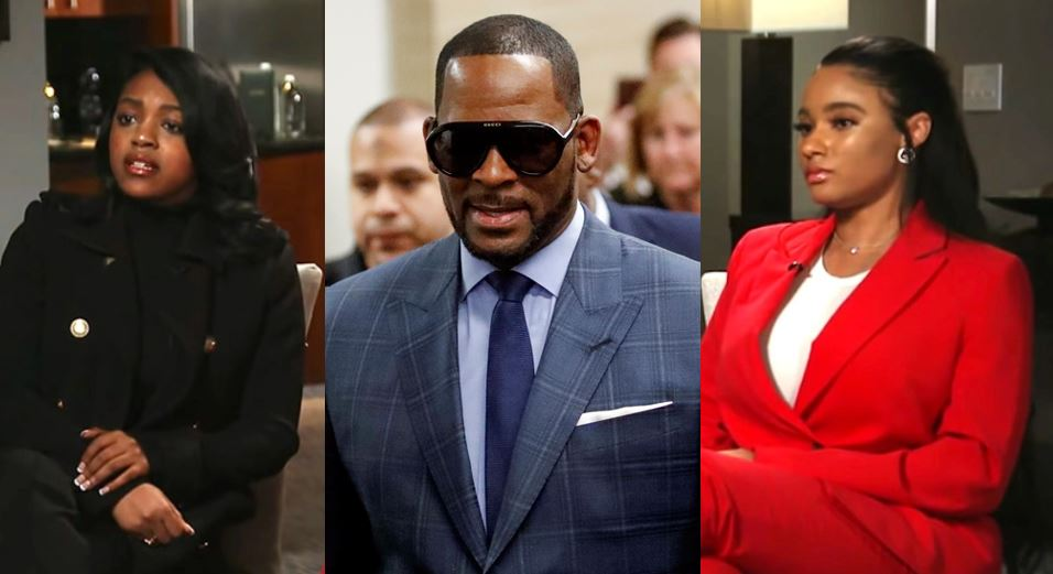 The shocking things R Kelly's girlfriends, Azriel Clary and Jocelyn Savage, said in his defense