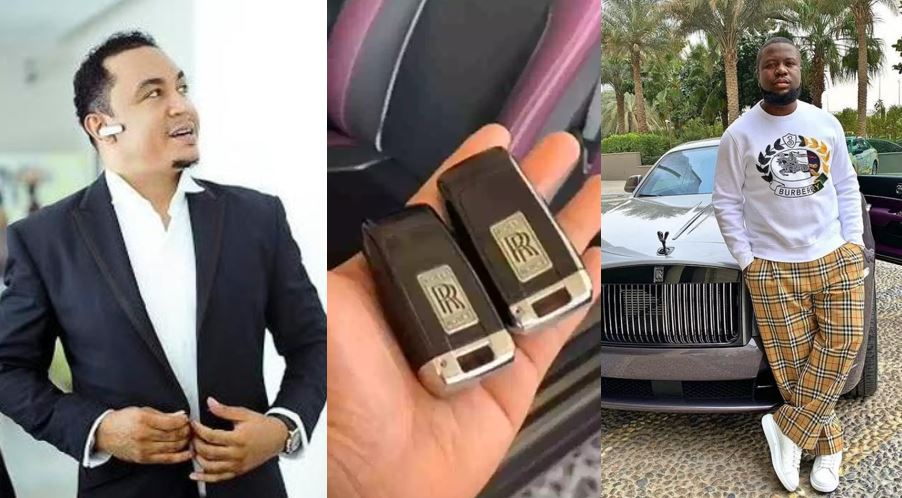 Daddy Freeze defends Hushpuppi, shares proof showing he really bought a Rolls Royce