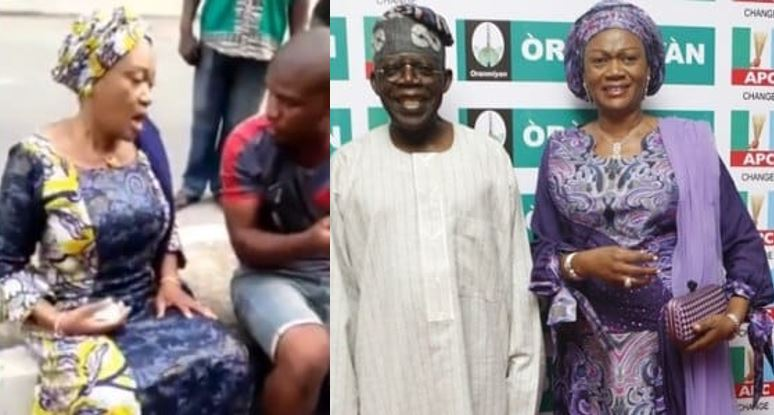 """Igbo people we no dey trust una again"" – Tinubu's wife tells voter (Video)"