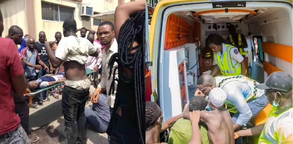'My son asked me to pray for him before he left for school' – Father of 6-year-old child involved in Lagos school building collapse