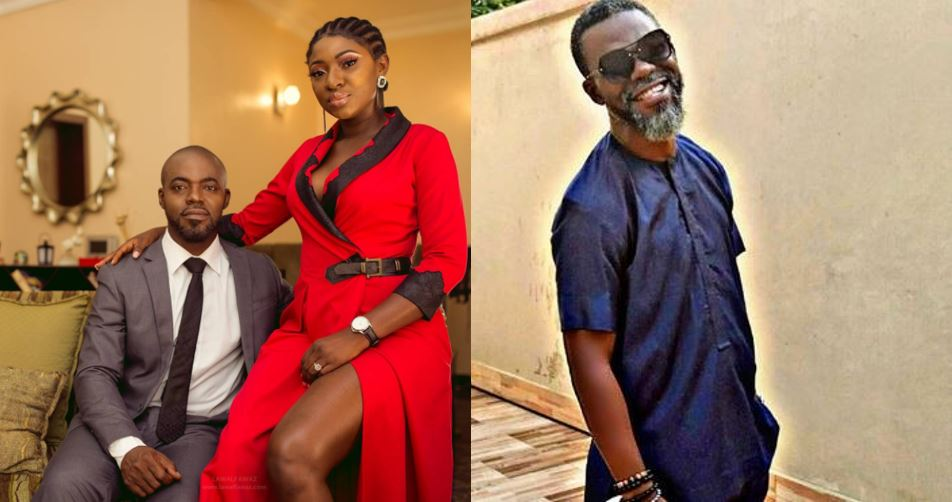 Abounce reacts after fan commented on how he looks without his ex-wife, actress Yvonne Jegede