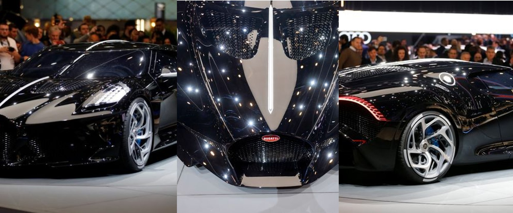 Bugatti unveils world's most expensive luxury car (Photos)