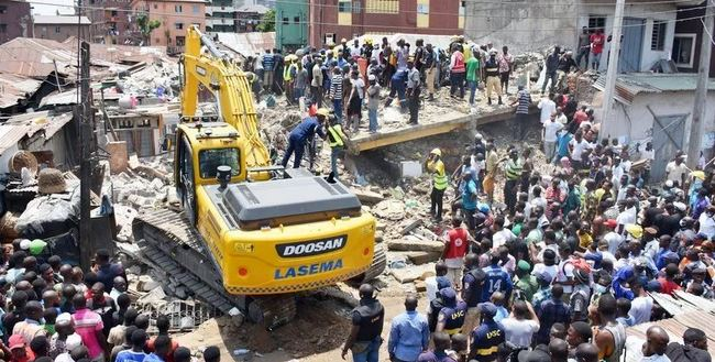 List of survivors from Lagos collapsed building