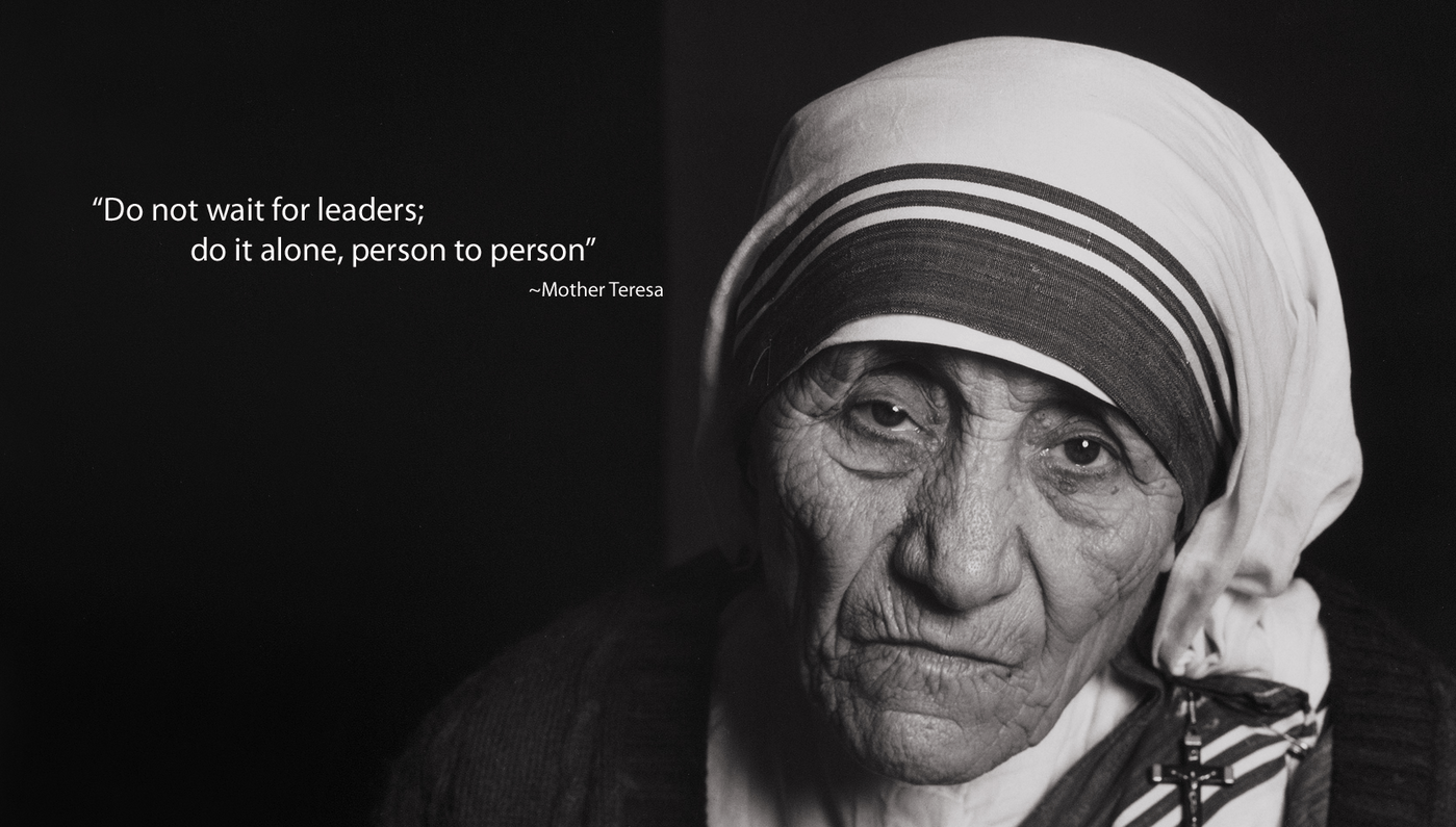 100 Powerful quotes by Mother Teresa