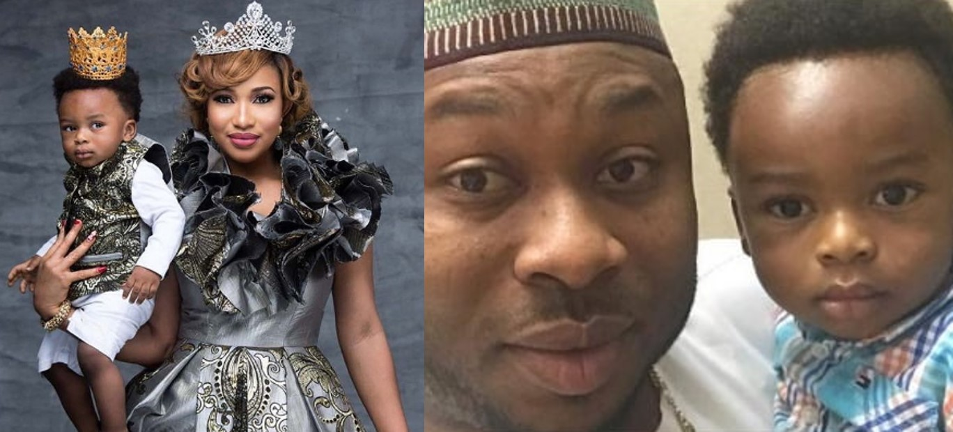 Tonto Dikeh blasts her ex-husband Olakunle Churchill over fake news