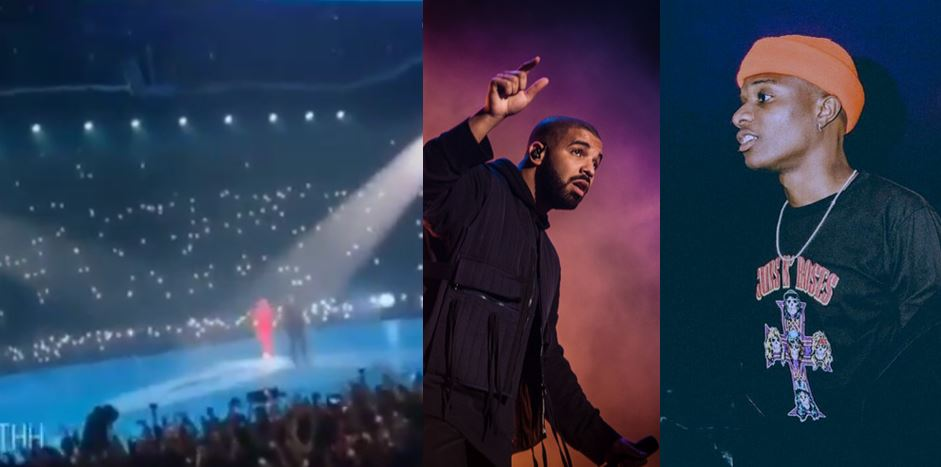 Drake brings Wizkid to perform 'Come Closer' with him at the O2 Arena