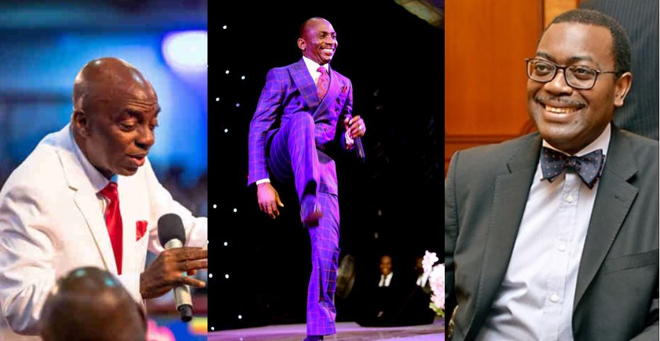 Oyedepo, Enenche and few other Nigerians make list of 100 most reputable people on earth for 2019 (full list)